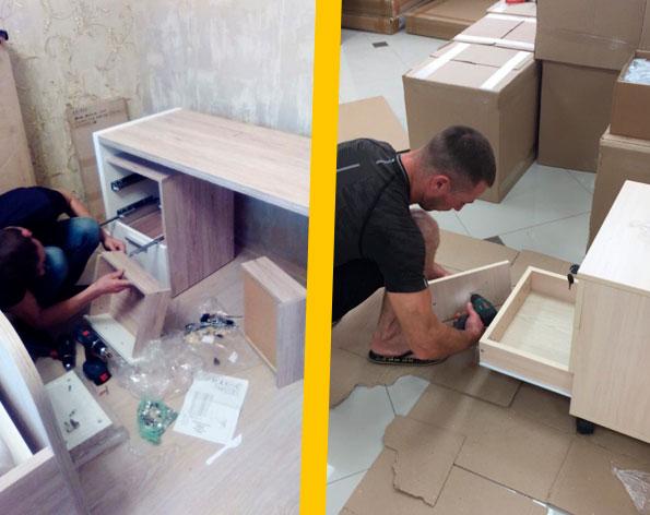 Сборка разборка мебели 1